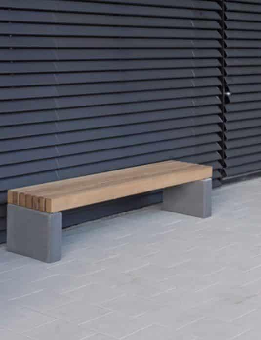 Banquette b ton mobilier urbain - Banquette beton cellulaire ...