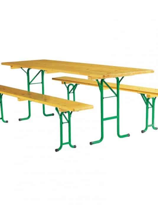 Table de festivité pieds rond