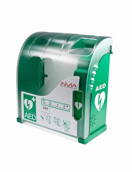 Boitier extérieur pour défibrillateur