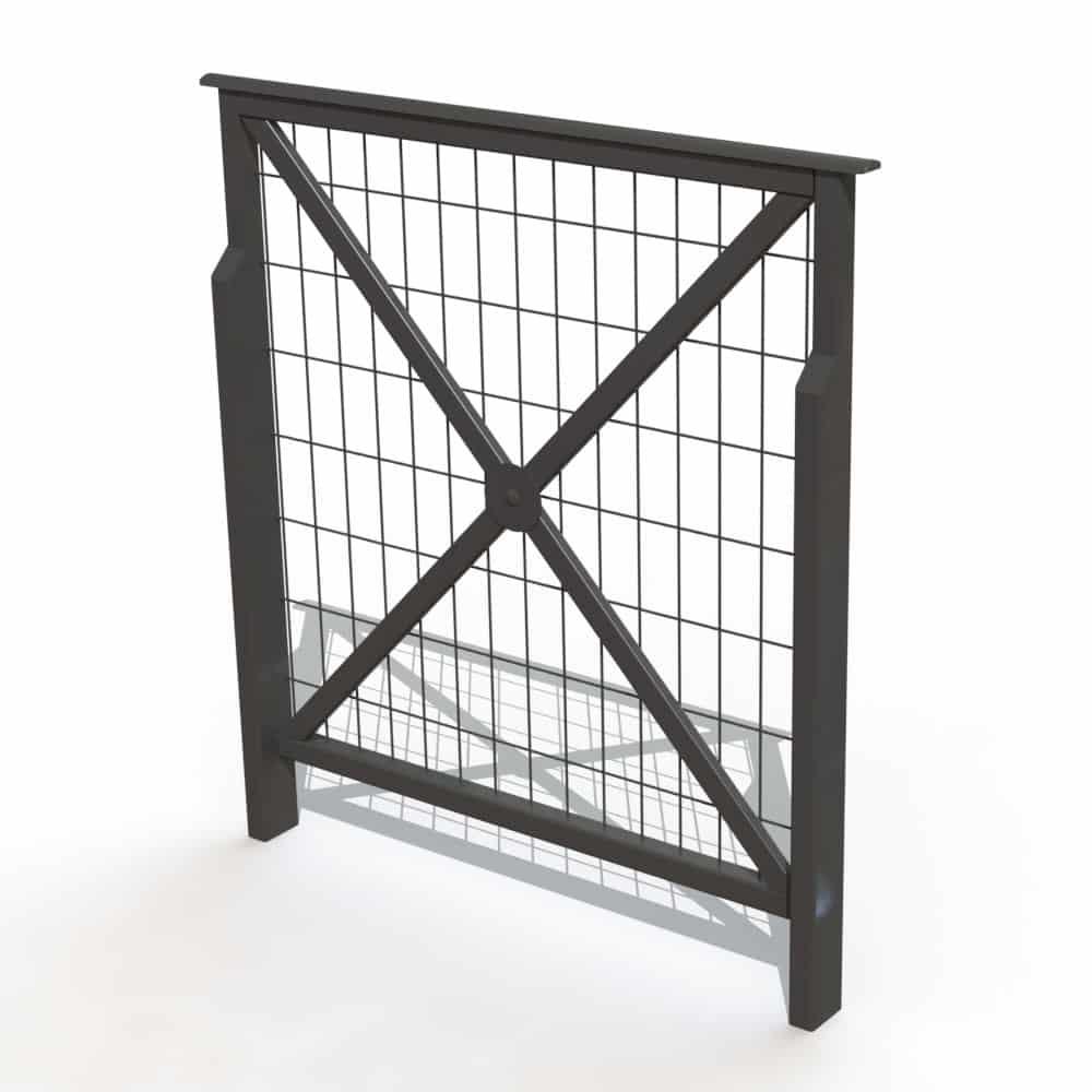 barri re croix de st andr lisse. Black Bedroom Furniture Sets. Home Design Ideas